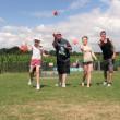 Beanbag throwing game