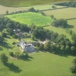 Aerial of Wistow Hall & Maze
