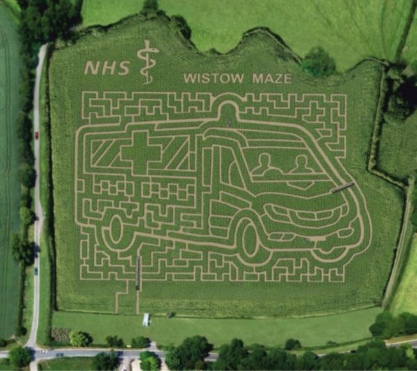Wistow Maze 2018